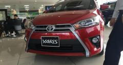 Toyota Yaris 1.5G màu đỏ 2017-2018