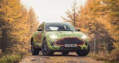 Aston Martin DBX sắp ra mắt