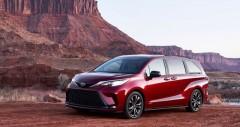 Chi tiết Toyota Sienna kèm giá bán