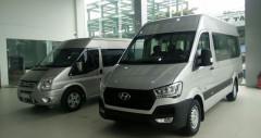 Chi tiết minibus Hyundai Solati 16 chỗ