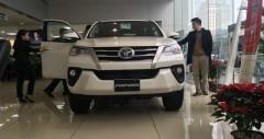 Giá xe Toyota Fortuner máy dầu nhập khẩu