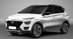 Hyundai Bayon 2021 sắp ra mắt