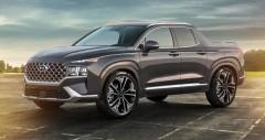 Hyundai Santa Cruz 2021 sắp ra mắt