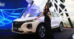 Hyundai Santafe máy dầu mới 2020
