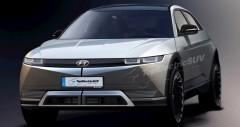 Hyundain Ioniq 5 sắp ra mắt