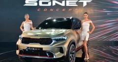 Mini SUV Kia Sonet sắp ra mắt