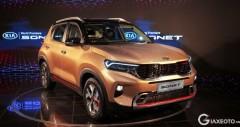 Mini SUV Kia Sonet ra mắt