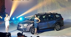 Subaru Forester 2019-2020 ra mắt