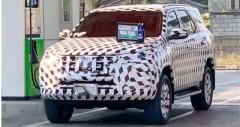 Toyota Fortuner 2022 sắp ra mắt