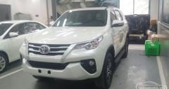 Toyota Fortuner máy dầu số tự động 2018-2019 giá bao nhiêu?