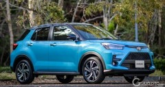 Crossover cỡ nhỏ Toyota Raize 2020