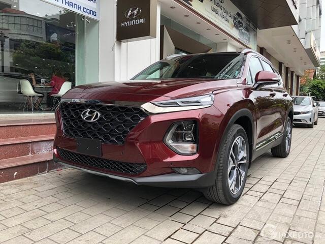 Hyundai Santafe May Dầu 2020 Thong Số Gia Lăn Banh 10 2020