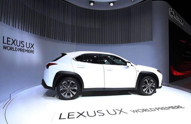 lexus ux 2018-2019: ux200, ux250, ux250h chính thức ra mắt