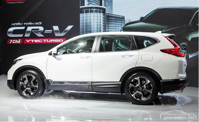 Chi tiết Honda CRV 2019 kèm khuyến mãi, giá lăn bánh (12/2019)